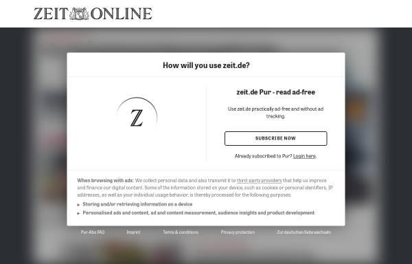 Vorschau von www.zeit.de, Die Zeit - Philosophische Hilfestellungen: Udo Jürgens, Selbstdarsteller
