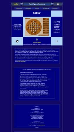 Vorschau der mobilen Webseite andsa.de, Kugel Solitär