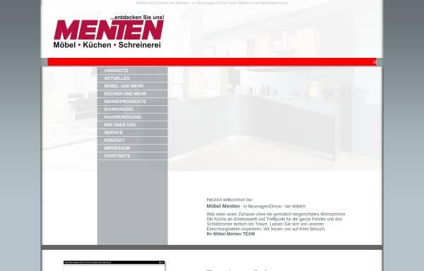 Vorschau von www.moebel-menten.de, Möbel Menten