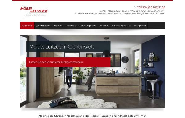 Vorschau von www.leitzgen.de, Möbel-Leitzgen GmbH