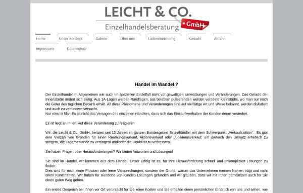 Vorschau von www.leicht-co.de, Leicht & Co. GmbH