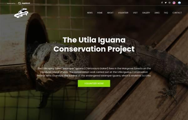 Vorschau von www.utila-iguana.de, Schutzprojekt Utila-Leguan