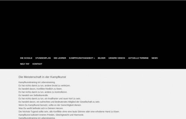 Vorschau von dacascos-schwerin.de, Dacascos Kung Fu Schule Schwerin