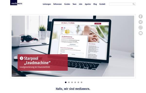 Vorschau von mediaworx.com, Mediaworx Berlin AG