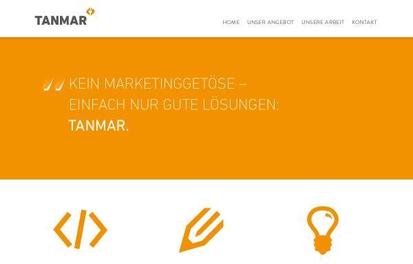 Vorschau von www.tanmar.de, Tanmar Webentwicklung