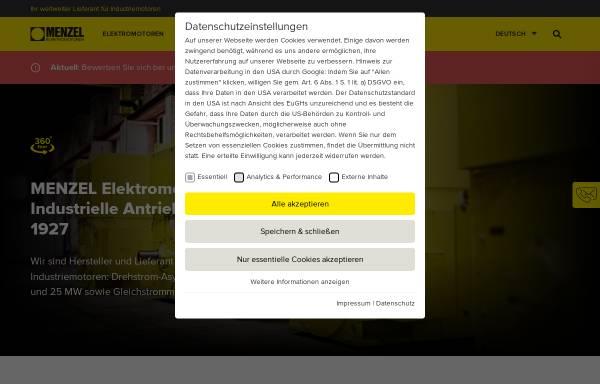 Vorschau von www.menzel-motors.com, Todo Gesellschaft für Informationstechnik mbH