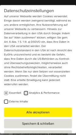 Vorschau der mobilen Webseite www.menzel-motors.com, Todo Gesellschaft für Informationstechnik mbH