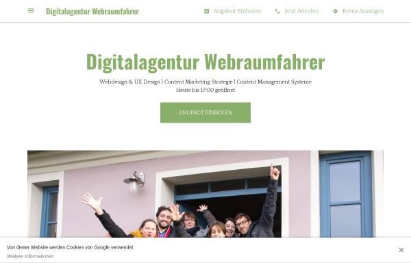 Vorschau von www.webraumfahrer.com, Webraumfahrer GmbH