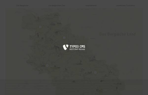 Vorschau von www.bergischesland.de, Naturpark Bergisches Land