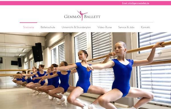 Vorschau von www.gemmasballett.de, Gemma´s Ballettboutique