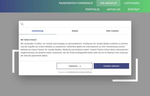 Vorschau von www.passepartout-gmbh.de, Passepartout Agentur für Events GmbH
