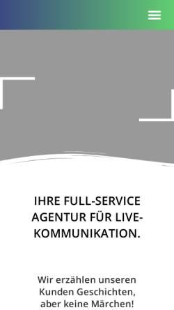 Vorschau der mobilen Webseite www.passepartout-gmbh.de, Passepartout Agentur für Events GmbH