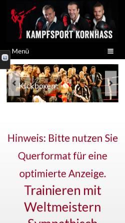 Vorschau der mobilen Webseite fongs-kungfu-rosenheim.de, Fongs Kung Fu School Rosenheim