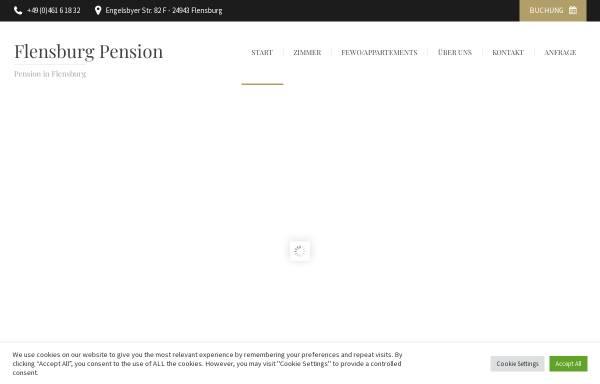 Vorschau von www.flensburg-pension.de, Olaf Picker