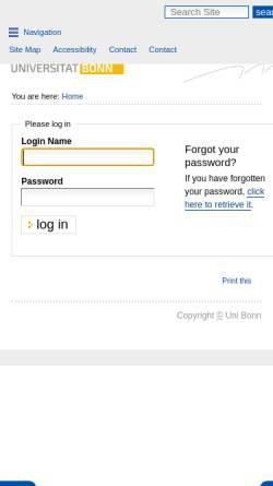 Vorschau der mobilen Webseite www.iol.uni-bonn.de, Institut für Organischen Landbau