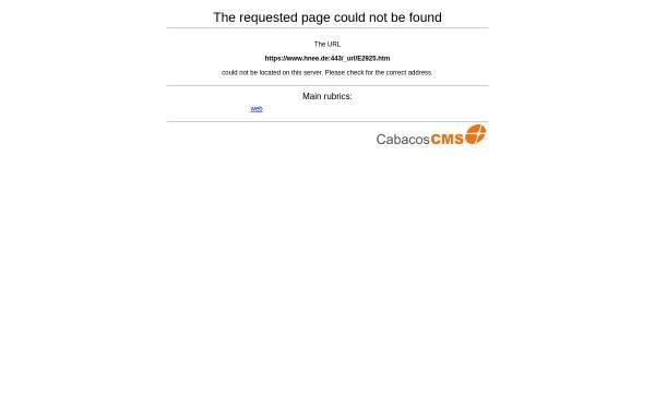 Vorschau von www.hnee.de, Masterstudiengang Öko-Agrarmanagement