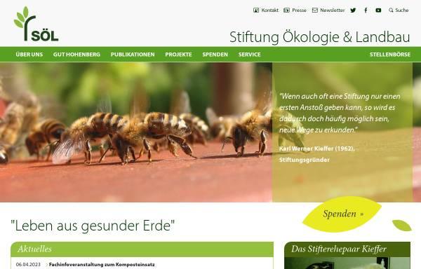 Vorschau von www.soel.de, Stiftung Ökologie & Landbau