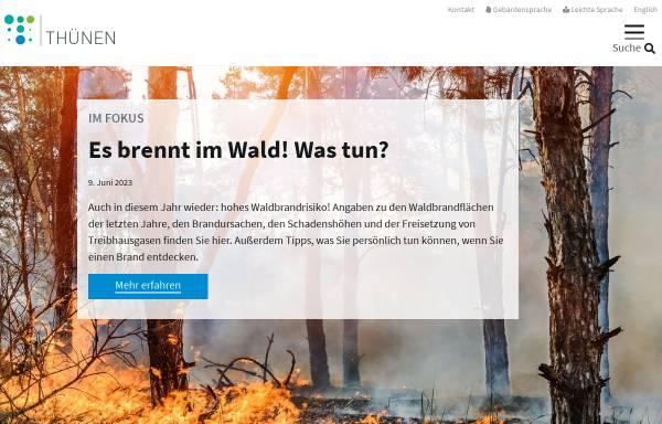 Vorschau von www.trenthorst.de, Förderverein des Instituts für Ökologischen Landbau, Trenthorst e.V. (FOELT e.V.)