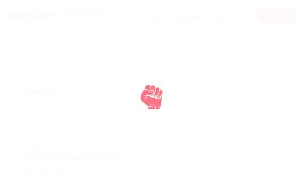 Vorschau von www.boxclub.ch, Boxclub Sportring Zürich