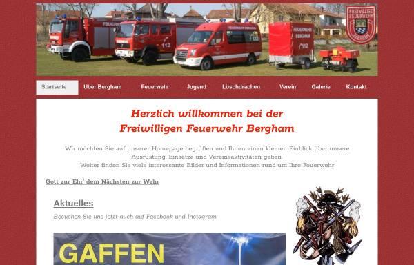 Vorschau von www.feuerwehr-bergham.de, Freiwillige Feuerwehr Bergham
