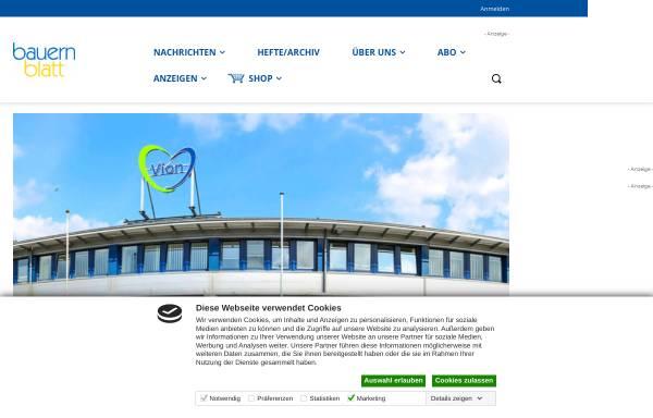 Vorschau von www.bauernblattsh.de, Bauernblatt Schleswig-Holstein und Hamburg