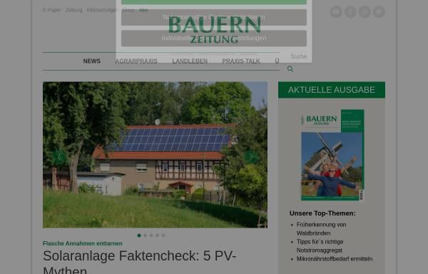 Vorschau von www.bauernzeitung.de, BauernZeitung Online