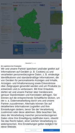 Vorschau der mobilen Webseite www.unwetterzentrale.de, Unwetter- und Sturmwarnungen