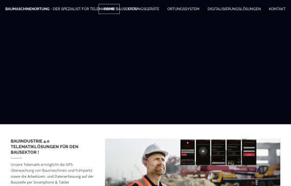 Vorschau von www.baumaschinenortung.de, Baumaschinenortung Christian Kompart