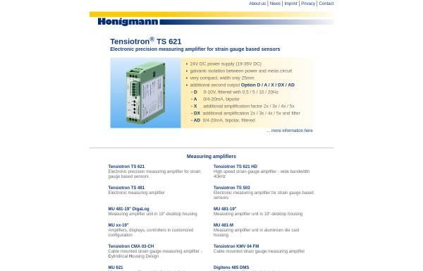 Vorschau von www.honigmann.com, Honigmann GmbH