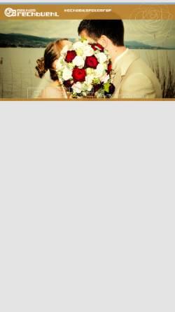 Vorschau der mobilen Webseite mbpictures.ch, Hochzeitsfotografie Mathias Brechbühl