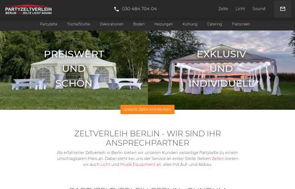Vorschau von partyzeltverleih-berlin.de, Zeltverleih Berlin
