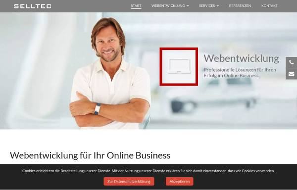 Vorschau von www.selltec.de, Selltec Communications GmbH