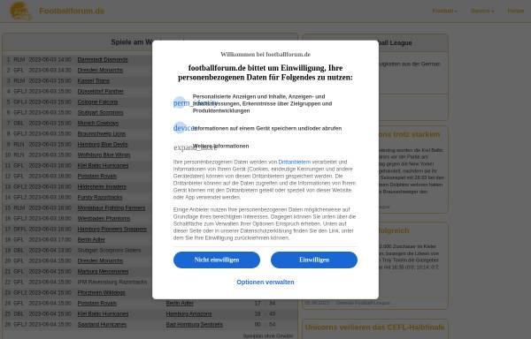 Vorschau von www.footballforum.de, Footballforum.de