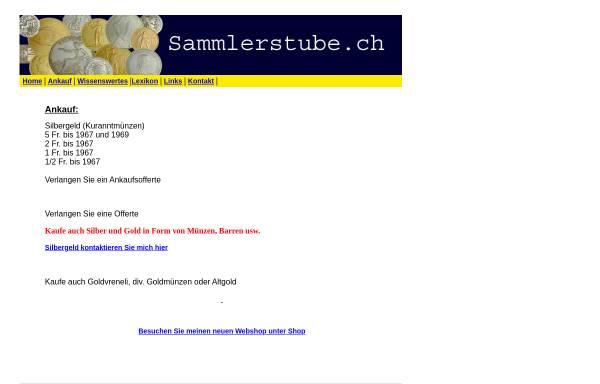 Vorschau von www.sammlerstube.ch, Sammlerstube, Philipp Eppler