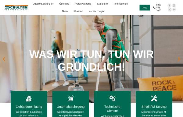 Vorschau von www.schulten.de, Paul Schulten GmbH & Co. KG