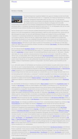 Vorschau der mobilen Webseite venedig.jc-r.net, Kirchen in Venedig