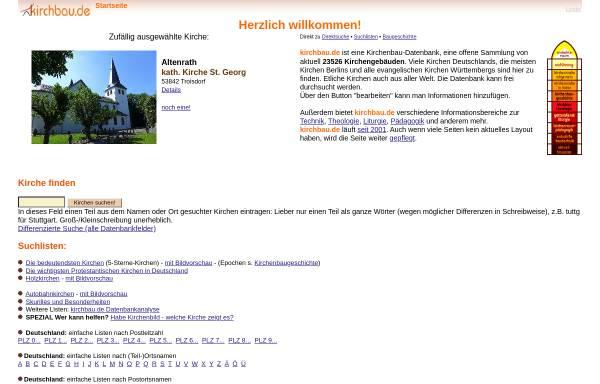 Vorschau von www.kirchbau.de, Kirchenbau