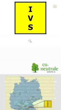Vorschau der mobilen Webseite www.ivs-nuernberg.de, Institut für Verhaltenstherapie, Verhaltensmedizin und Sexuologie