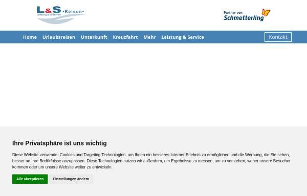 Vorschau von www.ls-reisen.de, L&S Reisen