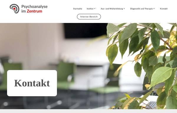 Vorschau von www.psychoanalysehannover.de, Lehrinstitut für Psychoanalyse und Psychotherapie e.V. Hannover (DPG)