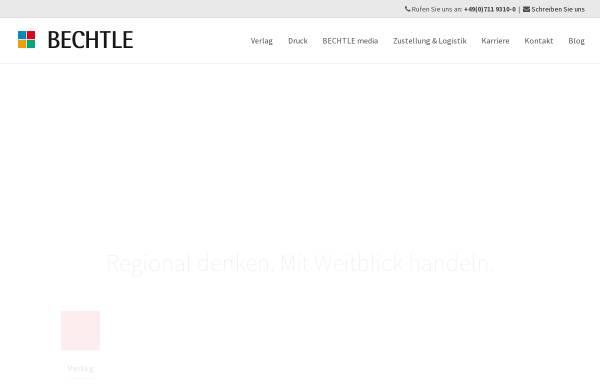 Vorschau von www.bechtle-online.de, Bechtle Verlag&Druck
