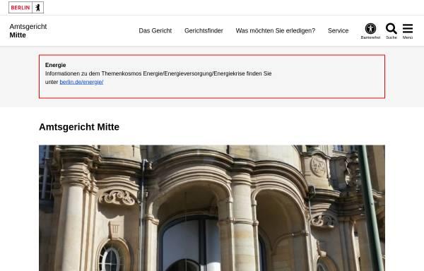 Vorschau von www.berlin.de, Amtsgericht Mitte