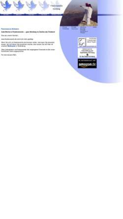 Vorschau der mobilen Webseite www.friedenswoche.de, Friedenswoche in Nürnberg