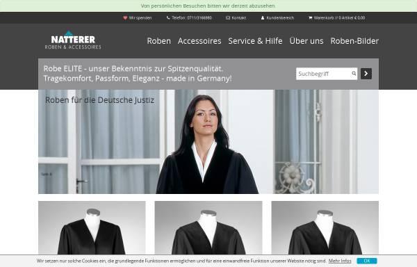 Vorschau von www.robe-elite.de, Profi Design Natterer GmbH