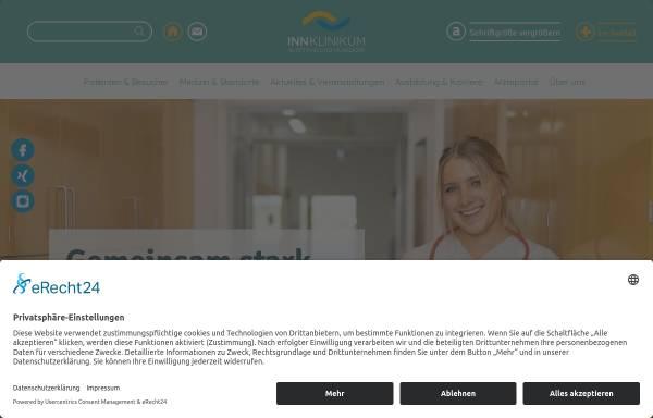Vorschau von www.krankenhaus-altoetting.de, Kreiskrankenhaus Alt/Neuötting