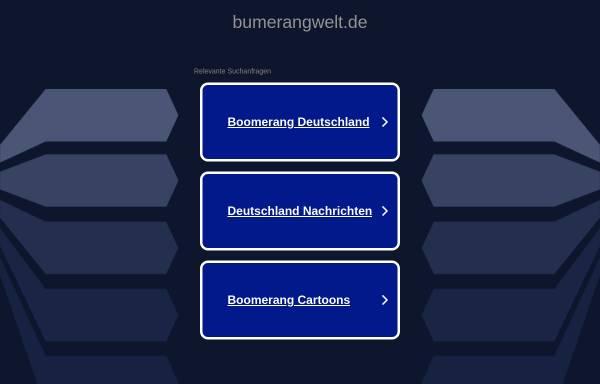 Vorschau von www.bumerangwelt.de, Bumerang Welt