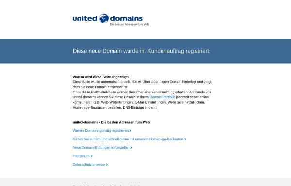 Vorschau von www.avicularia.de, Spinnenseite von Elmar und Diana