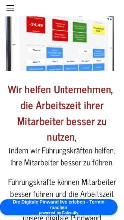 Vorschau der mobilen Webseite www.arwis.de, ArwisConsult GmbH