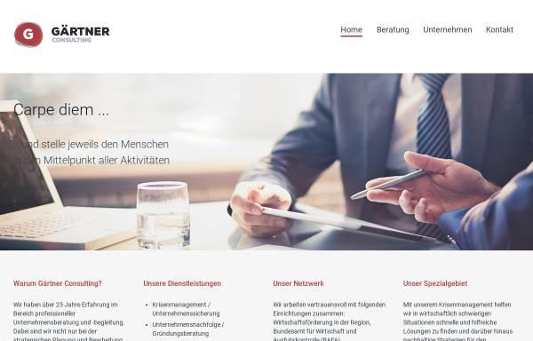 Vorschau von www.gaertner-consulting.de, Gärtner Consulting, Inh. Karl-Heinz Gärtner