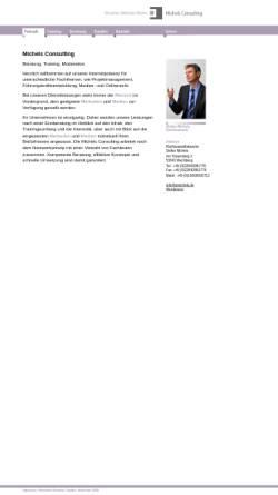 Vorschau der mobilen Webseite www.stmichels.de, Stefan Michels - Berater, Trainer und Rechtsanwalt